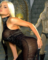 Jesse Jane has all the allure of any current day glamour model.  Her sex appeal comes from her sultry looks and hot tight body.  She has become a mode